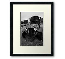 Old Chevrolet Truck I BW Framed Print