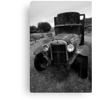 Old Chevrolet Truck I BW Canvas Print
