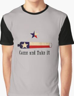 Come and Take it - Texas Flag Graphic T-Shirt