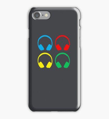 DJ Headphones iPhone Case/Skin