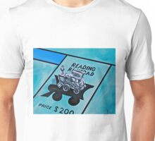 Take a ride on the reading  Unisex T-Shirt
