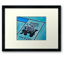 Take a ride on the reading  Framed Print