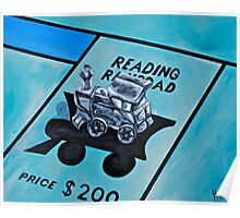 Take a ride on the reading  Poster