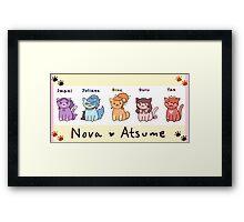 Nova Atsume Framed Print