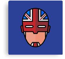 Captain Britain Canvas Print