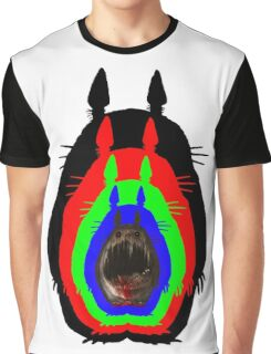 Mindfuck Totoro Graphic T-Shirt