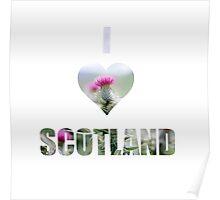 I Love Scotland Poster