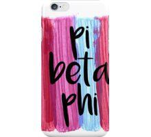 Pi Beta Phi iPhone Case/Skin