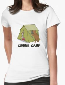 Summer Camp #10 Womens Fitted T-Shirt