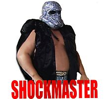 Shockmaster - Classic Wrestling Photographic Print