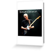 david gilmour Greeting Card