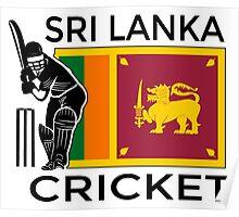 Sri Lanka Cricket Poster