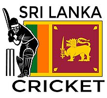 Sri Lanka Cricket Photographic Print