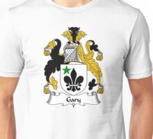 Gary  Coat of Arms / Gary  Family Crest Unisex T-Shirt