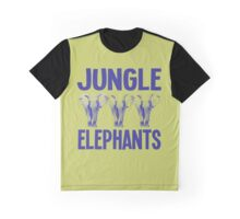 JUNGLE ELEPHANTS Graphic T-Shirt