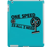 Single Speed iPad Case/Skin