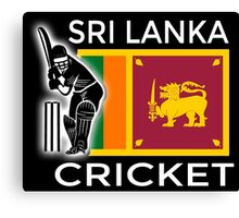 Sri Lanka Cricket Canvas Print