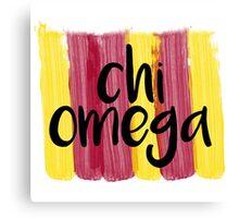 Chi Omega Canvas Print