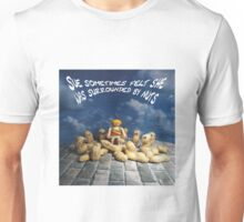Surrounded by nuts - female Unisex T-Shirt