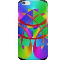 Fractal Rainbow Mandala iPhone Case/Skin