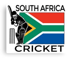 South Africa Cricket Canvas Print