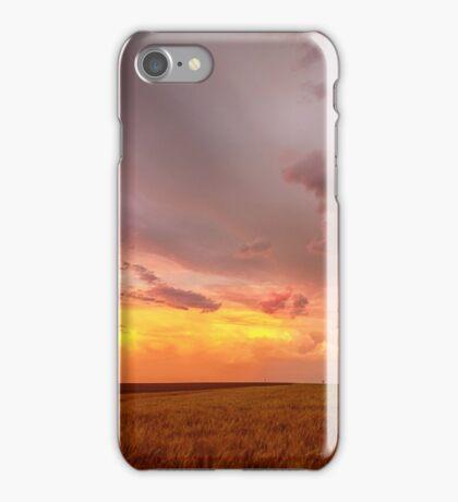 Colorado Eastern Plains Sunset Sky iPhone Case/Skin