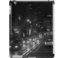 San Francisco Night I BW  iPad Case/Skin