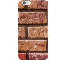 Brick Wall Close Up iPhone Case/Skin