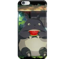 Water Melon Totoro iPhone Case/Skin