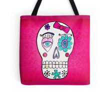 She Sugar Skull Tote Bag