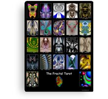 The Fractal Tarot Poster Canvas Print