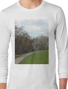 Fawsley Countryside Northamptonshire Long Sleeve T-Shirt