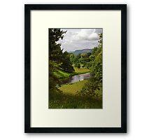 Cumbrian Parkland Framed Print