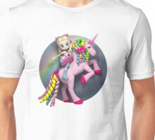 I didn't believe in unicorns until I rode one. Unisex T-Shirt