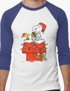 snoopy Men's Baseball ¾ T-Shirt