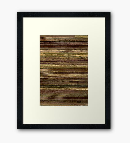 Brush #108 Framed Print