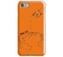 The Salting of the Earth iPhone Case/Skin