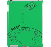 The Salting of the Earth iPad Case/Skin
