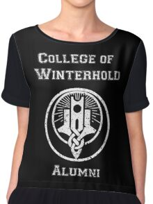 College of Winterhold Alumni Chiffon Top