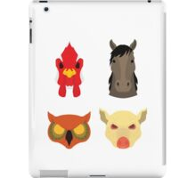 The Four Masks iPad Case/Skin