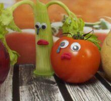 Onion tears Sticker