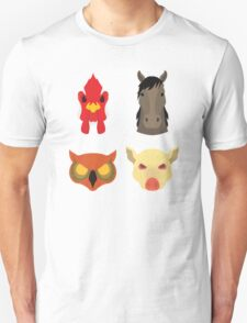 The Four Masks Unisex T-Shirt