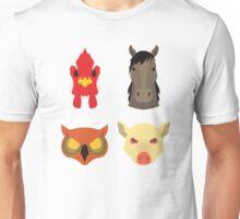 The Four Masks Unisex T-Shirt