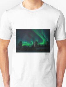 Aurore boréale Unisex T-Shirt