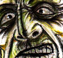 psychobilly frankenstiein Sticker