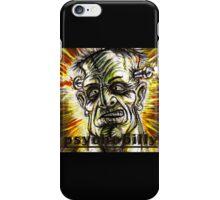 psychobilly frankenstiein iPhone Case/Skin