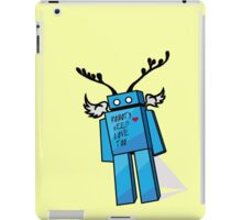 Robots Need Love Too iPad Case/Skin