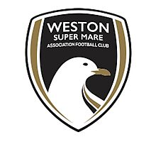 Weston-Super-Mare FC New Badge Photographic Print
