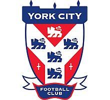 York City FC Badge Photographic Print