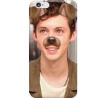 Troye Sivan With Dog Filter iPhone Case/Skin